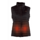 Heated vest women