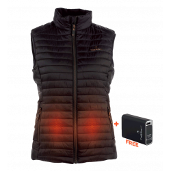 HEATED VEST WOMEN + BATTERY