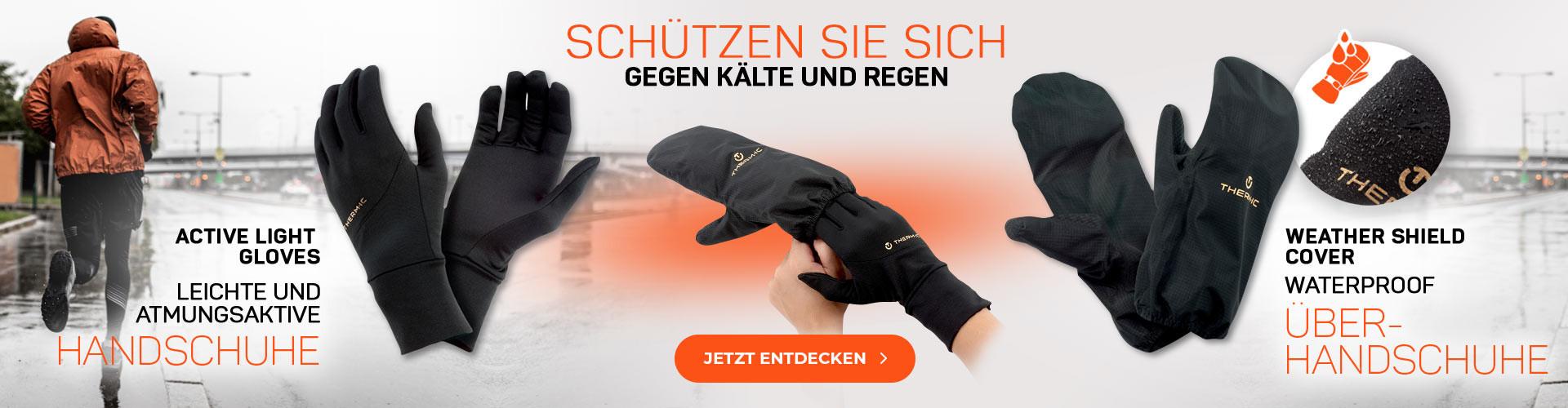 Schützen Sie sich gegen Kälte und Regen