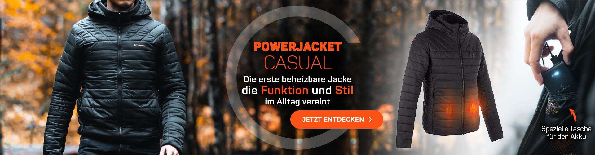 Die erste beheizbare Jacke die Funktion und Stil im Alltag vereint