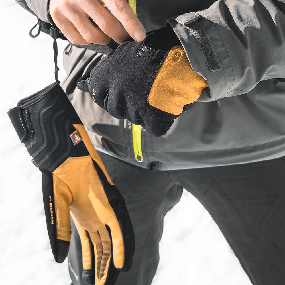 gants chauffants fins therm-ic