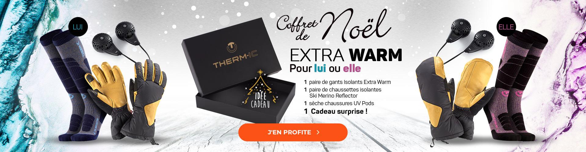 Découvrez notre box de Noël Extra Warm, parfaite pour ne plus avoir froid aux pieds ni aux mains !