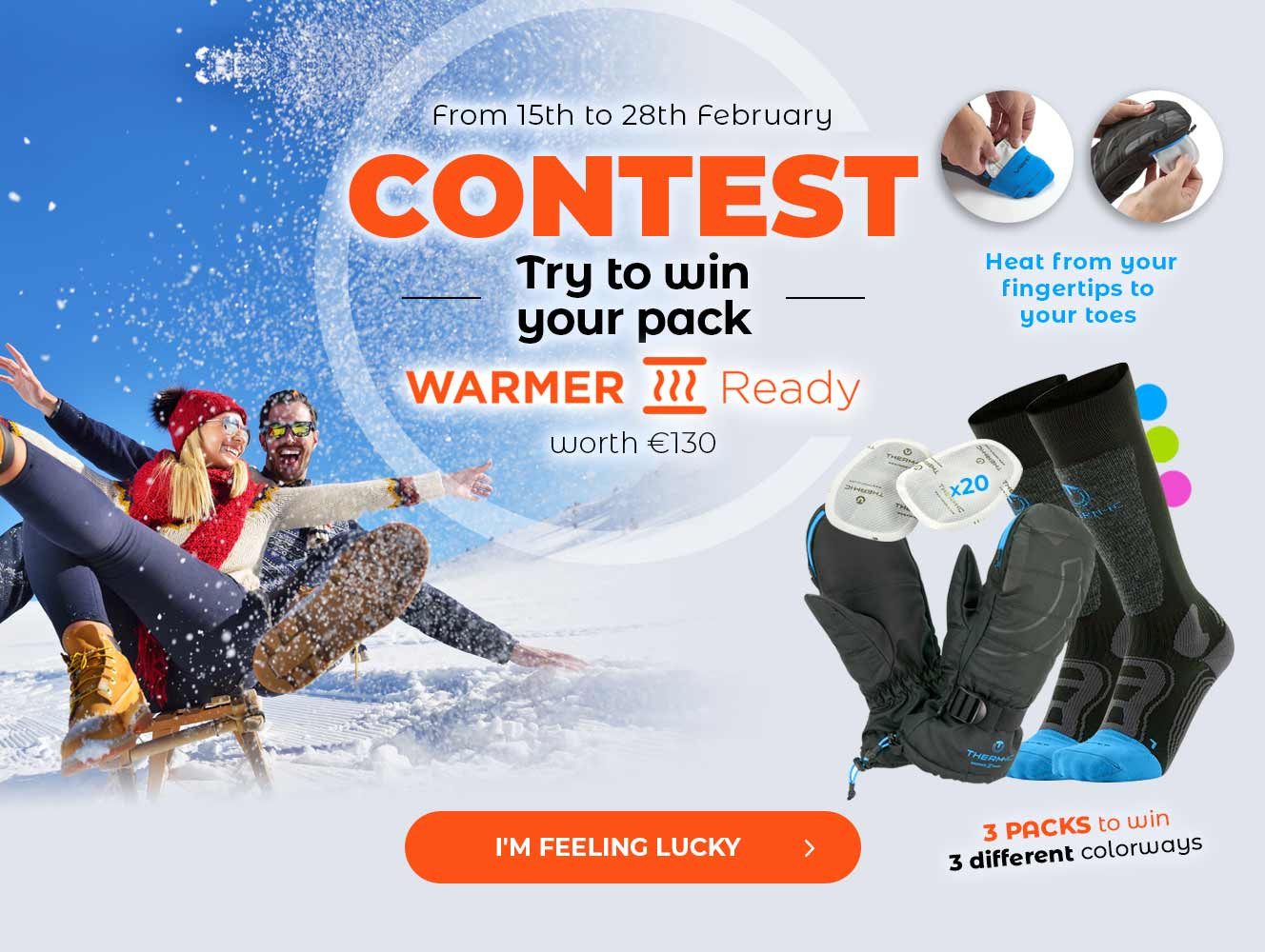 Big Therm-ic contest : win your Warmer Ready pack