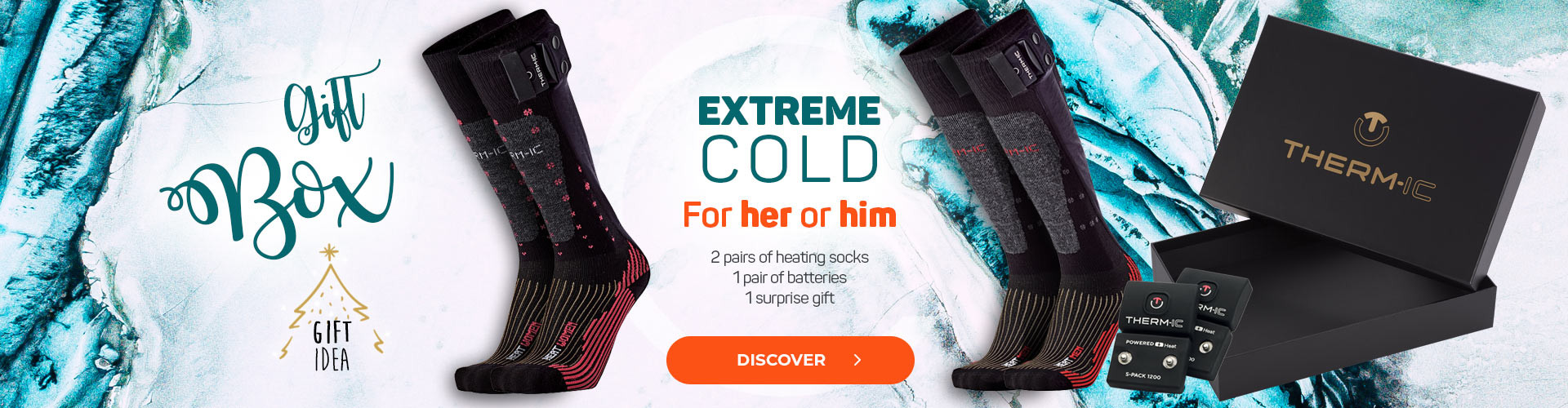 Discover our Christmas Box Extreme Cold for Men or Women