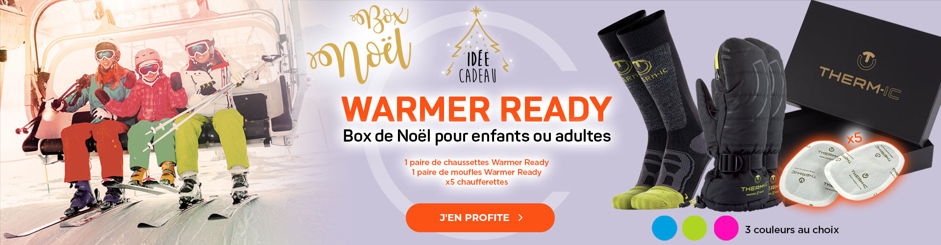 Box de Noël Warmer Ready pour enfants ou adultes