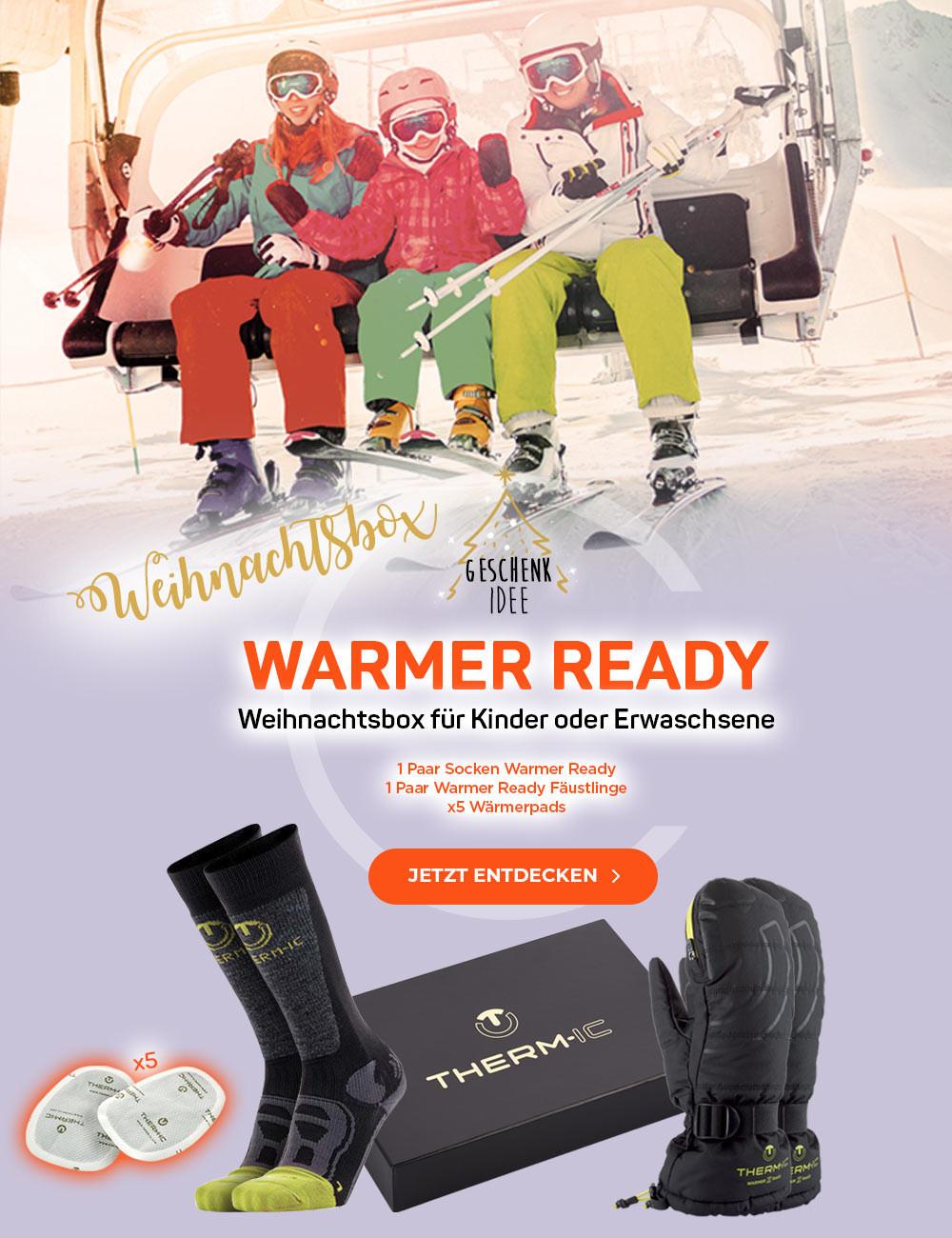 Weihnachtsbox Wärmer Bereit für Kinder oder Erwachsene