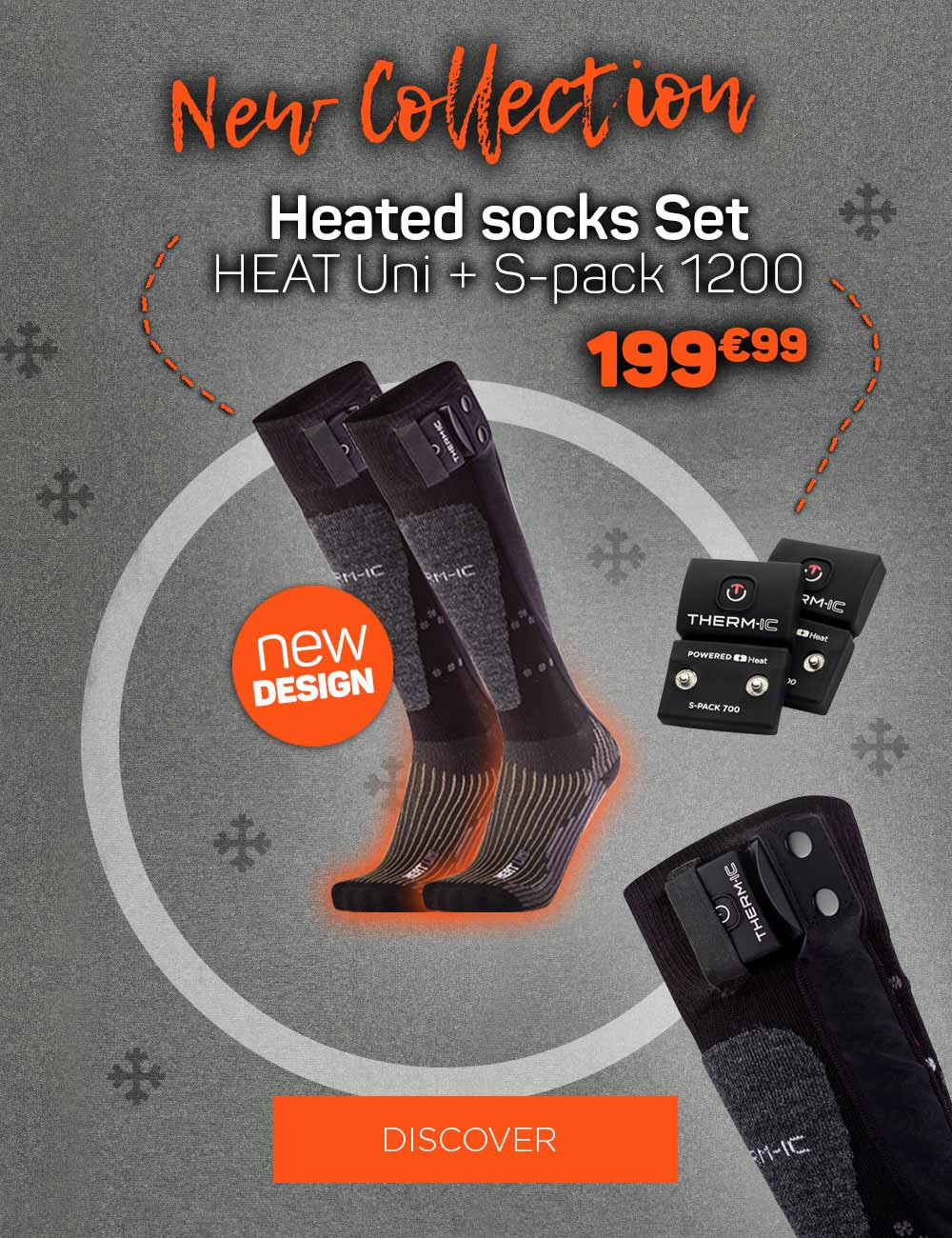 Discover our new collection of heated socks