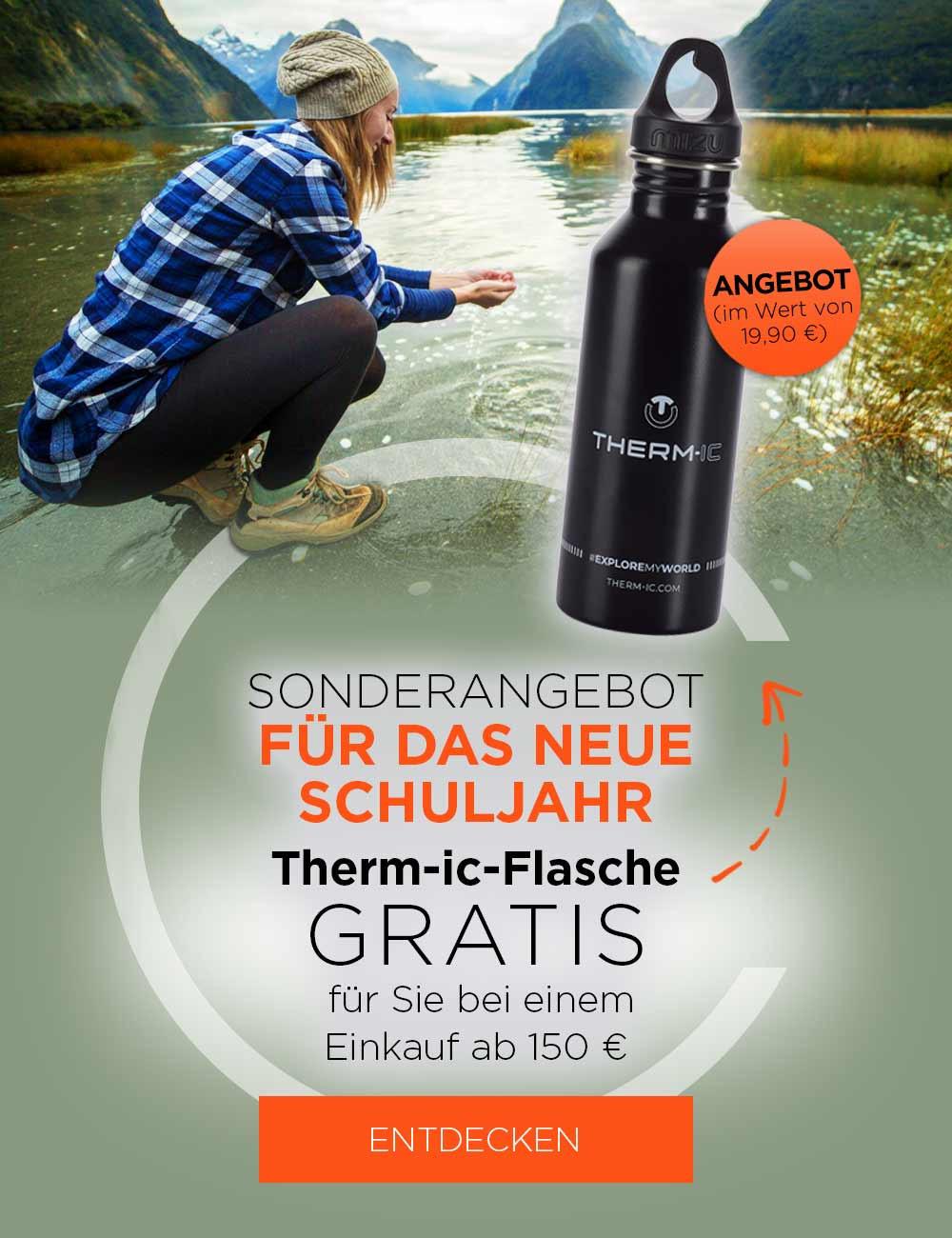 Therm-ic-Flasche gratis für Sie bei einem Einkauf ab 150€