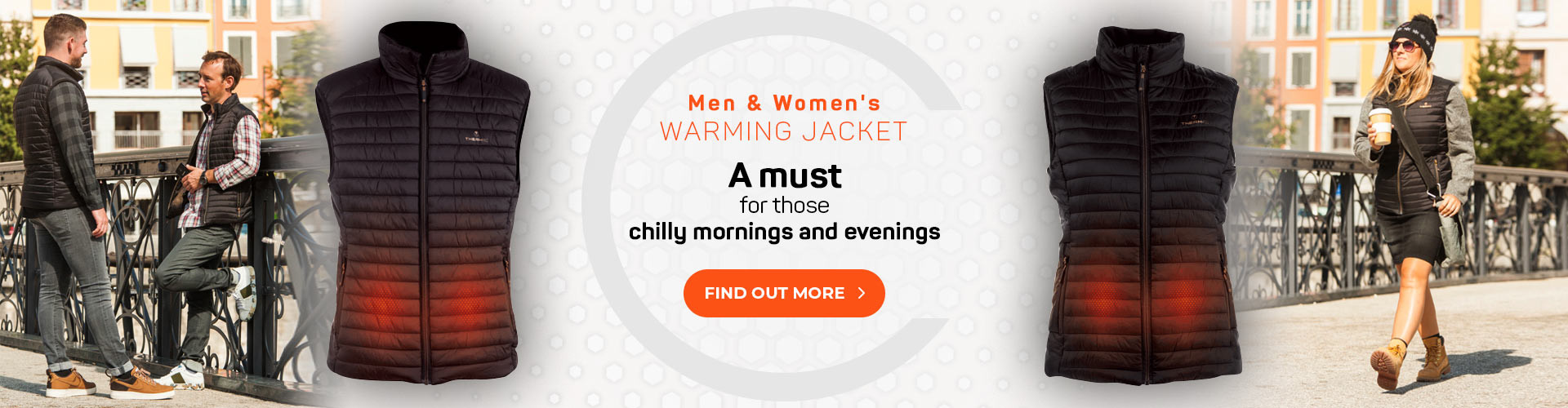 Heated vest : a must for those chilly morning and evenings