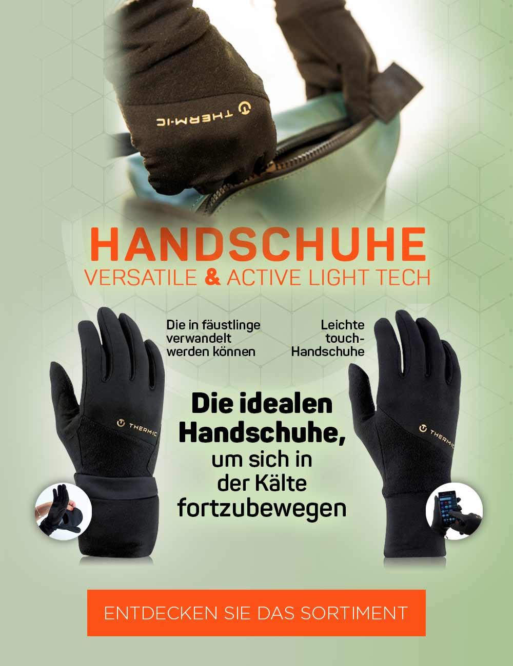 Entdecken Sie unsere Auswahl an Handschuhen für Ihre Städtereisen in der Kälte