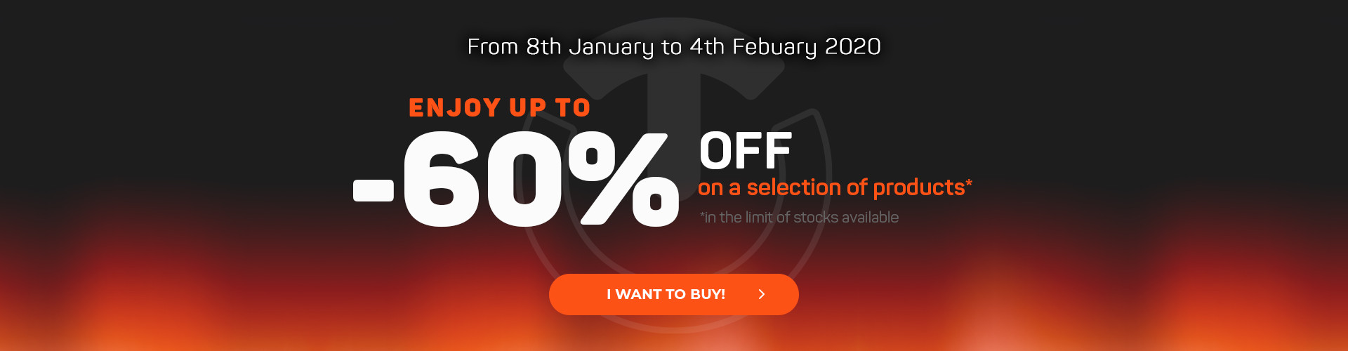 Winter Sales, enjoy up to 60% off!