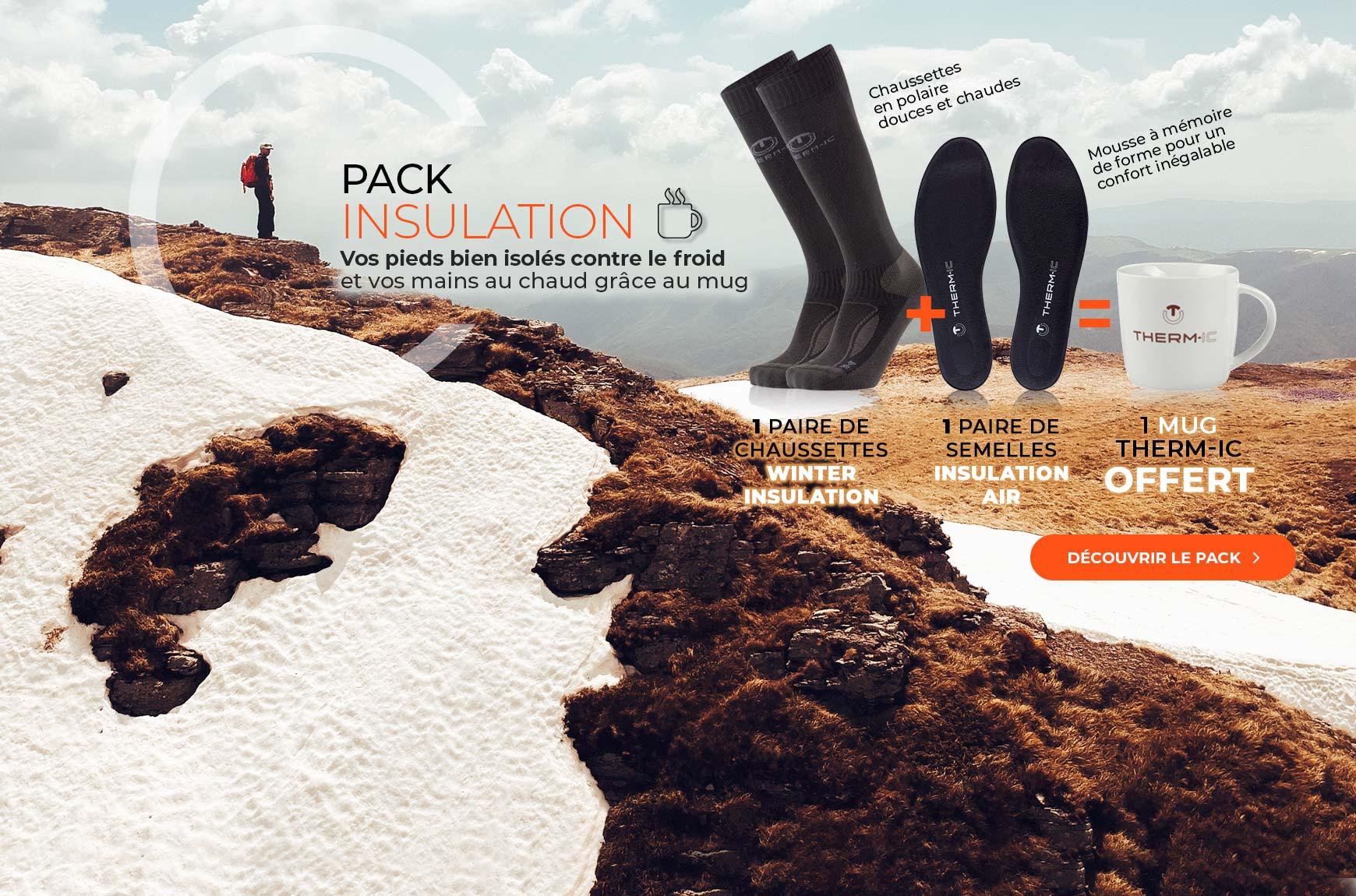 Profitez de notre pack winter insulation et bénéficiez d'un mug offert