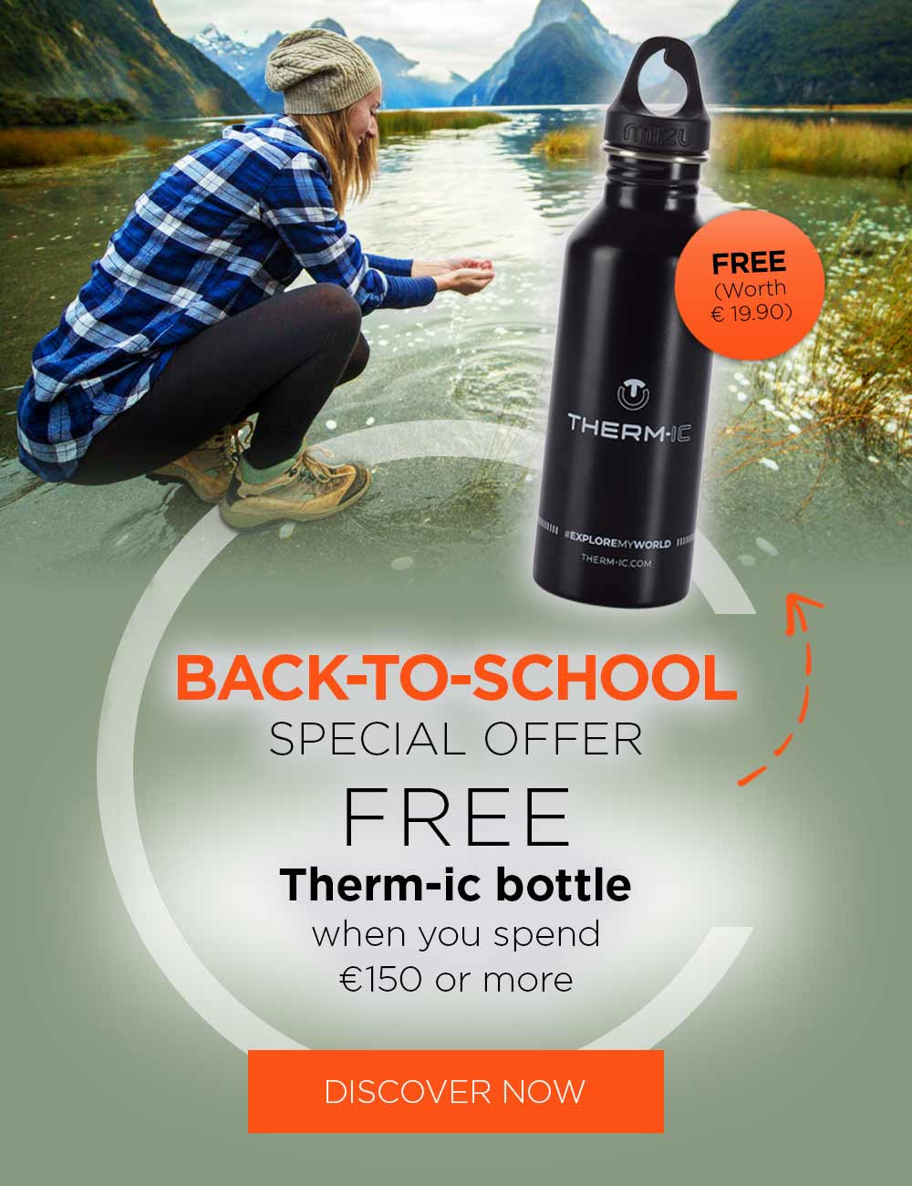 Get your free Therm-ic gourd when you spend 150€ or more