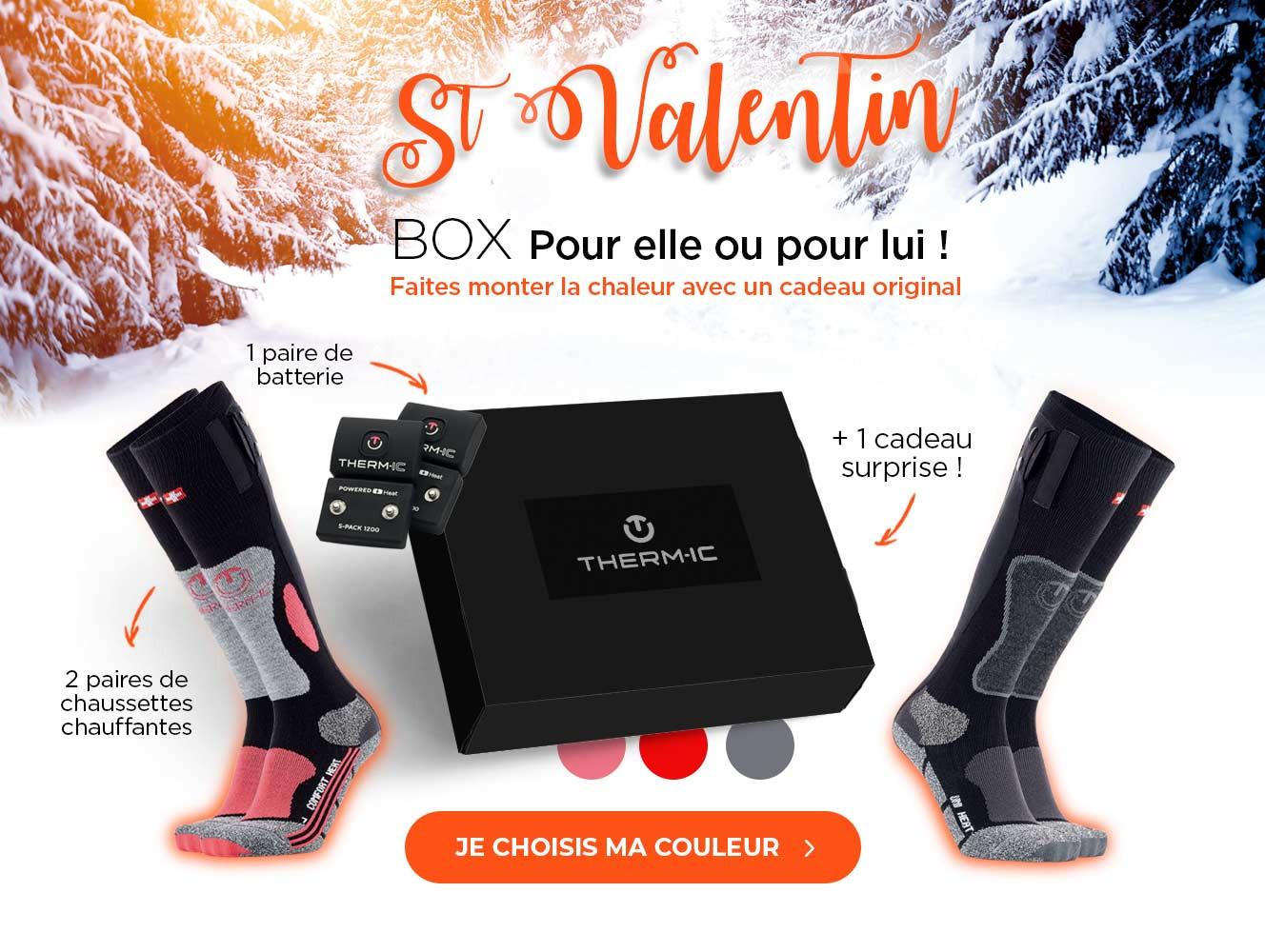 Box St Valentin pour elle ou pour lui
