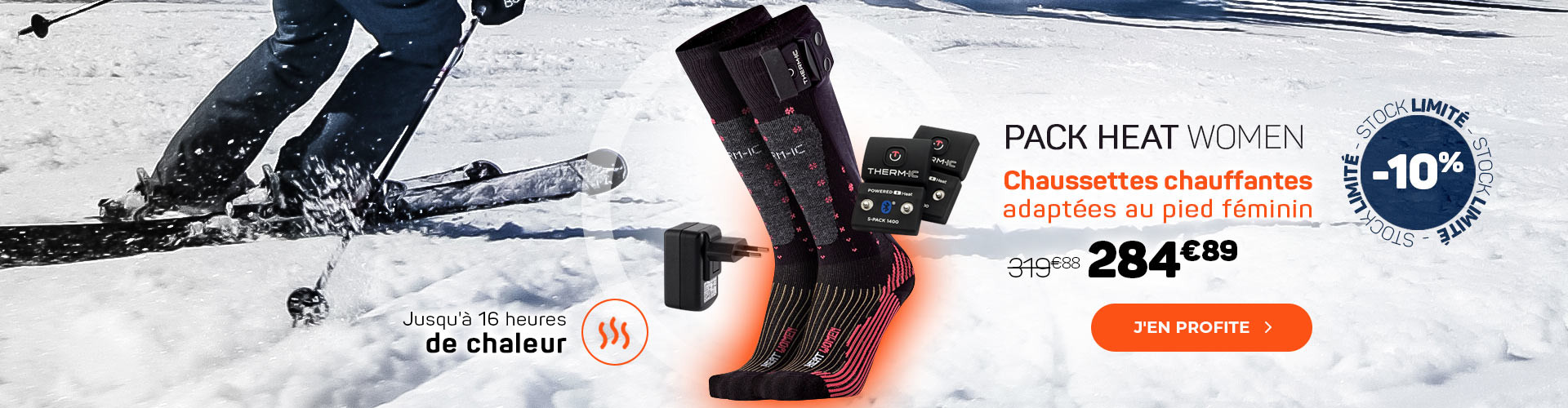 Dîtes STOP aux pieds froid grâce aux chaussettes chauffantes !