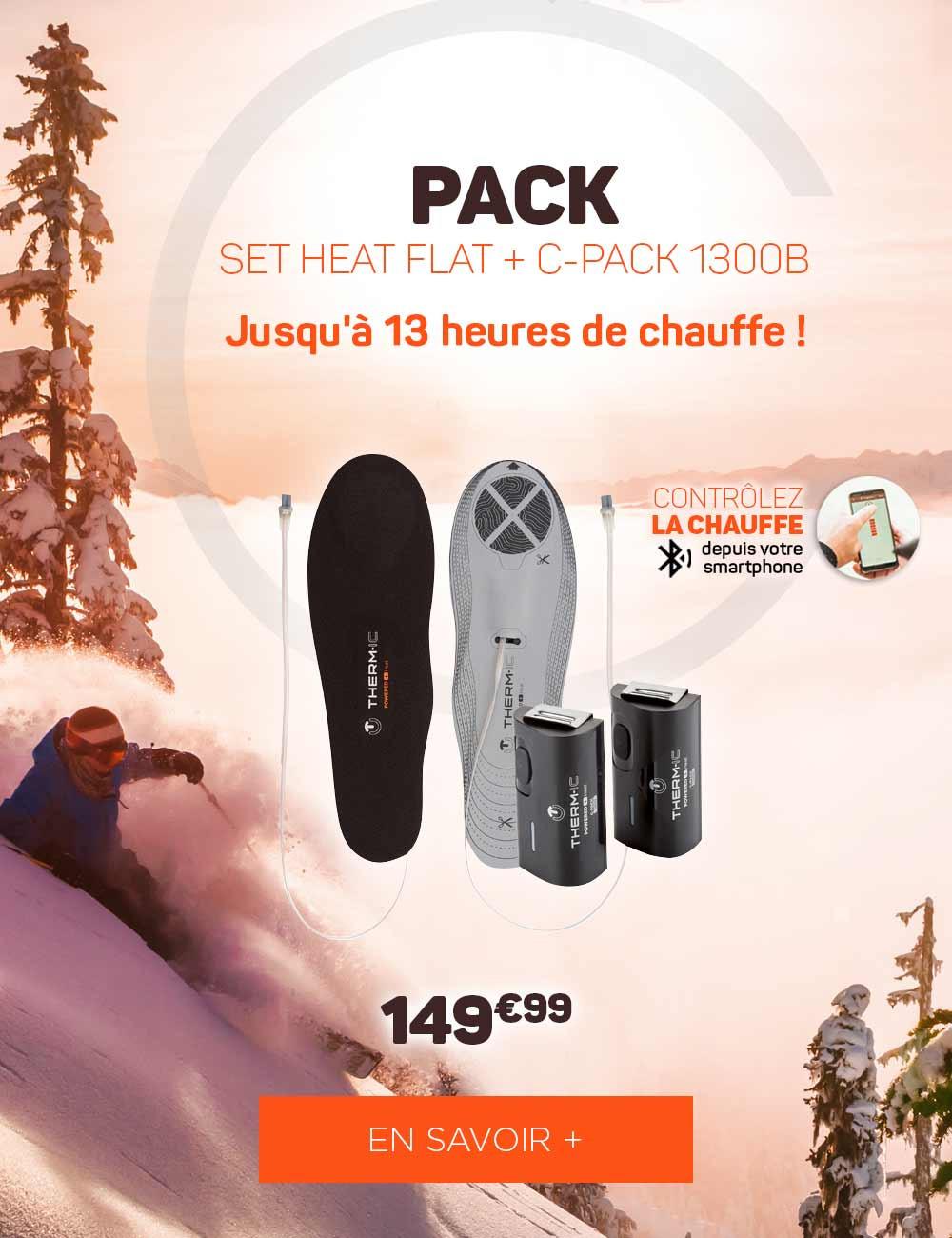 Découvrez les semelles chauffantes pour skier les pieds bien au chaud !