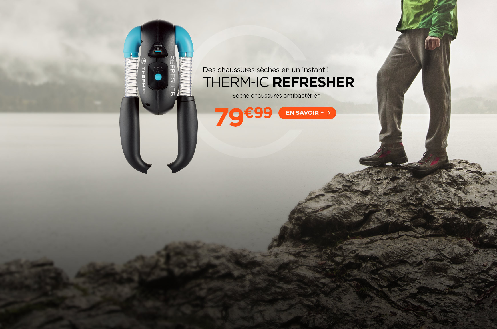 Sèche chaussures antibactérien Therm-ic Refresher