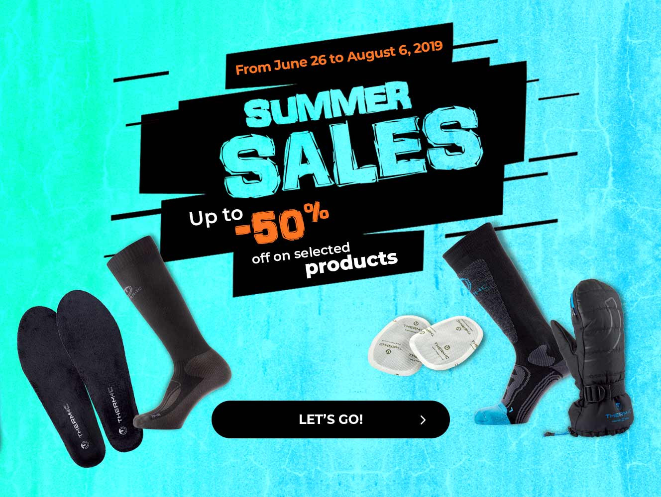 Up to -50% off on selected products