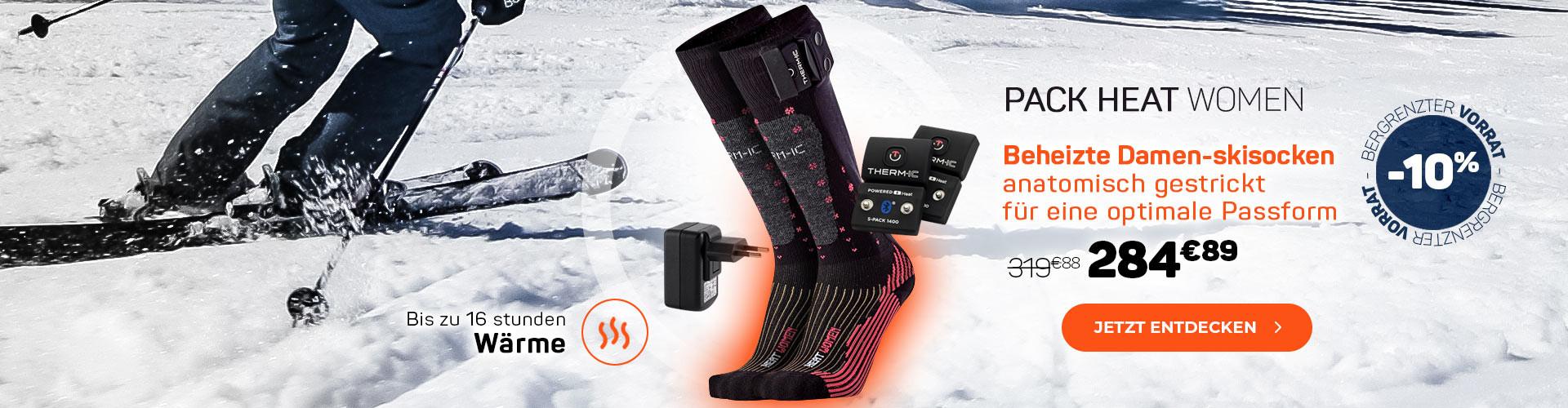 Mit unseren beheizten Socken können Sie gefrorene Füße stoppen!