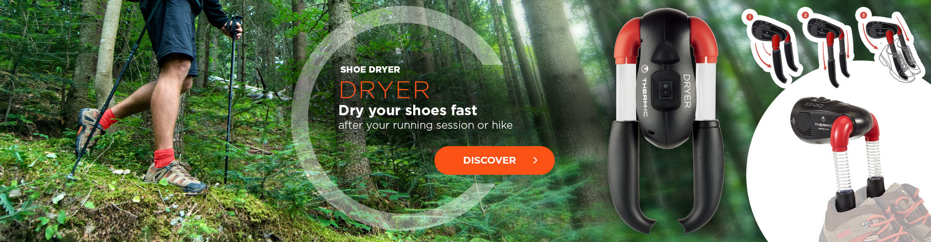 Dry your shoes quickly after your running session or your hike