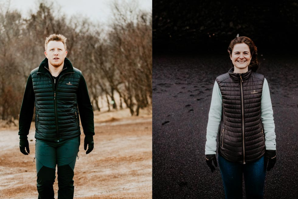 The heated jacket so you're never cold again
