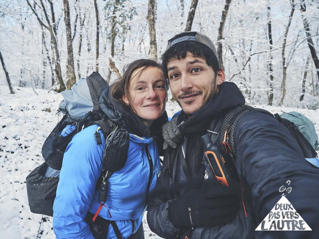 Brave the cold and cross Europe on foot