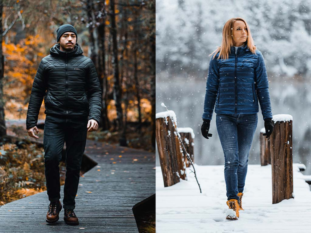 The Casual Powerjacket, the heated jacket you need this winter
